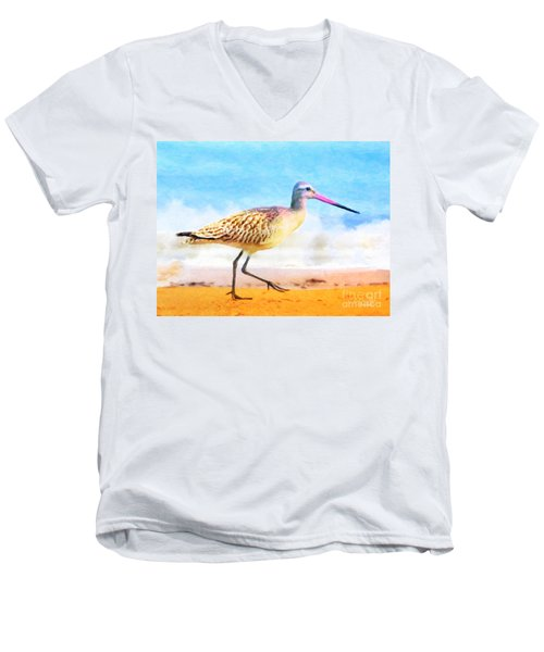 Sand Between My Toes ... Men's V-Neck T-Shirt