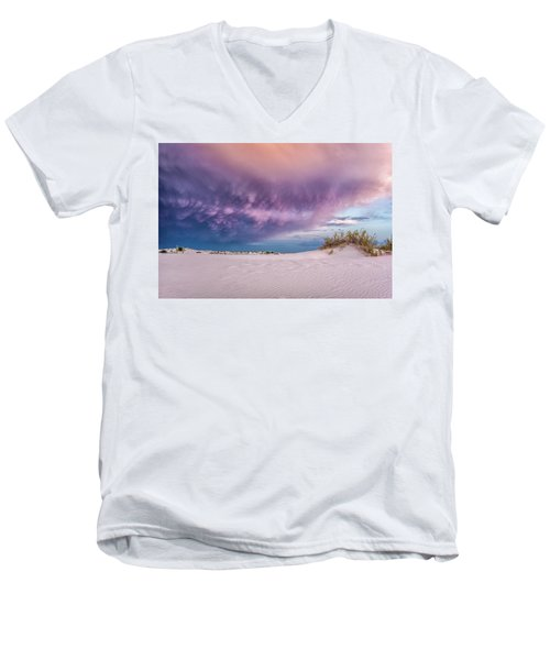 Sand Storm Men's V-Neck T-Shirt