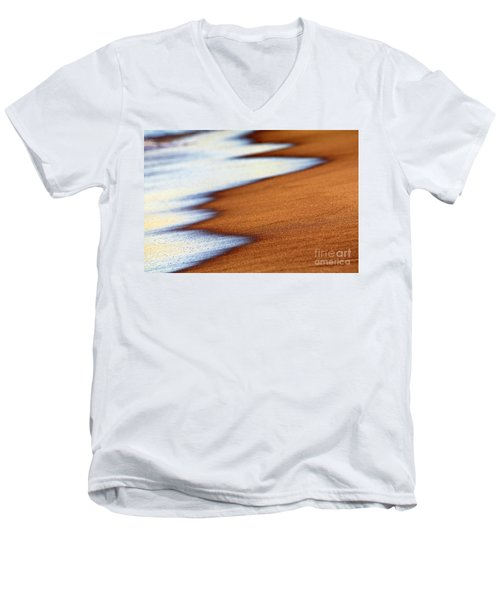 Sand And Waves Men's V-Neck T-Shirt