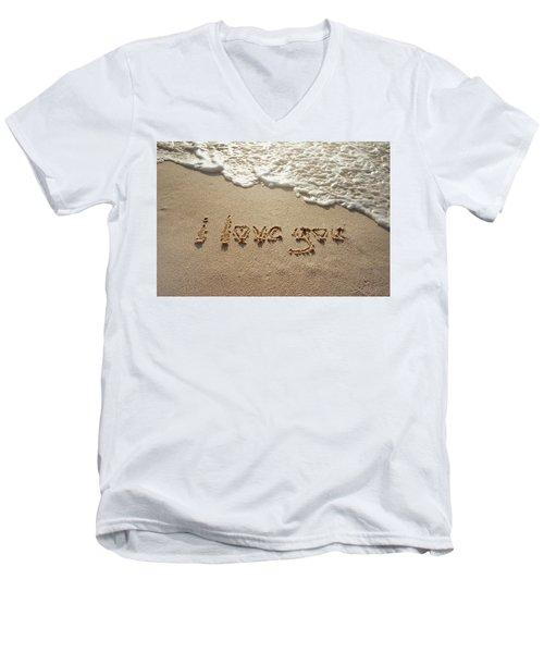 Sandskrit Men's V-Neck T-Shirt