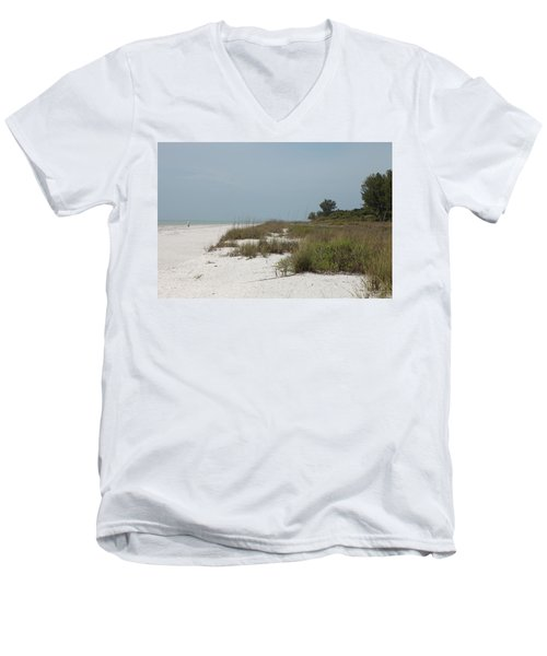 Sanibel Island Men's V-Neck T-Shirt