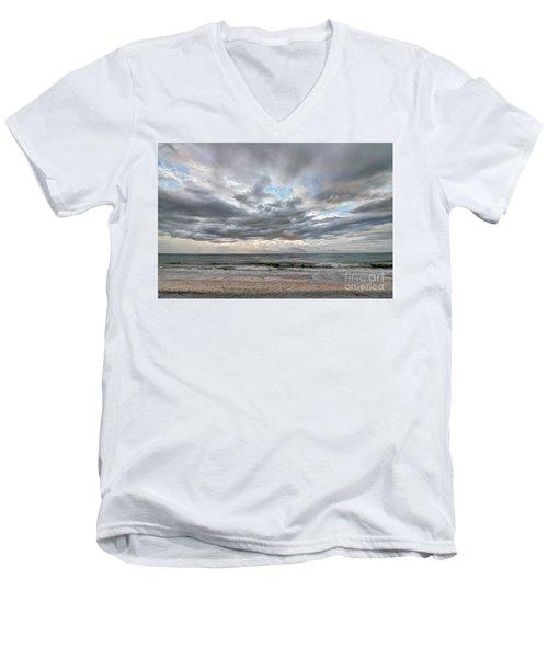Sanibel Island Seashells Men's V-Neck T-Shirt