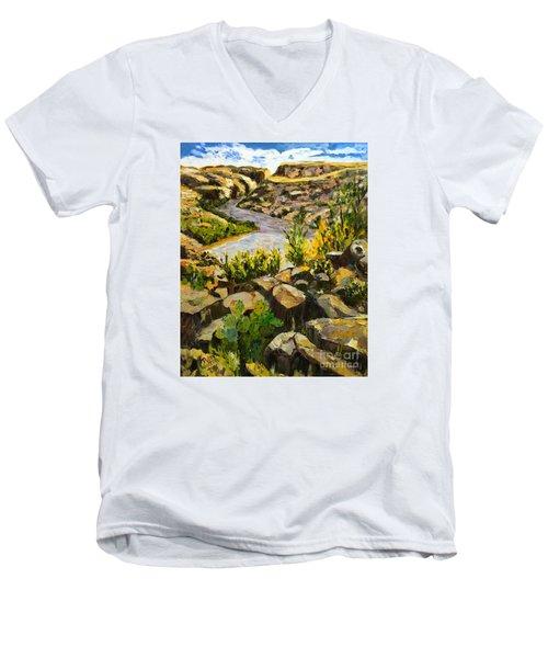 Santa Elena Canyon Men's V-Neck T-Shirt