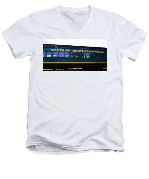 Santa Fe Train Men's V-Neck T-Shirt