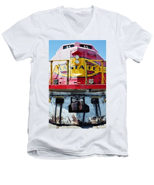Sante Fe Railway Men's V-Neck T-Shirt