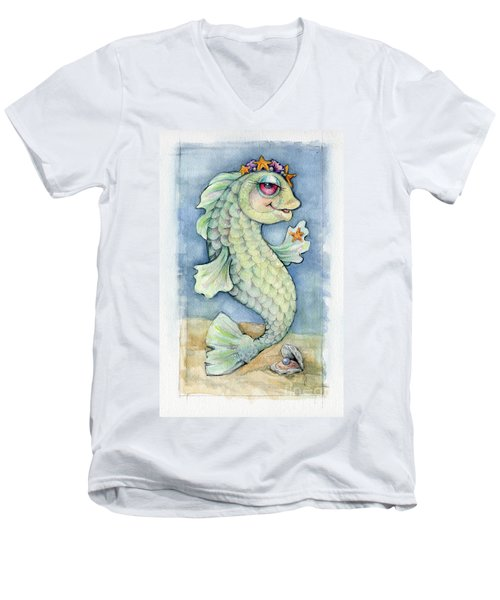 Sarafina Seabling Men's V-Neck T-Shirt