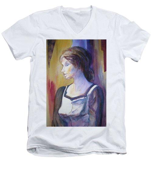 Sarah Sees Men's V-Neck T-Shirt