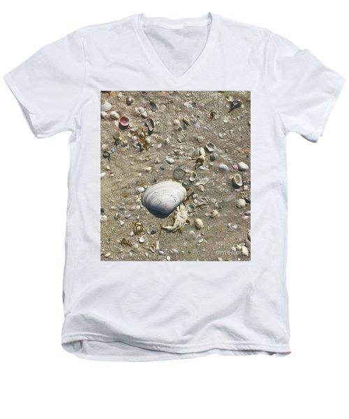 Sarasota County Shells Men's V-Neck T-Shirt