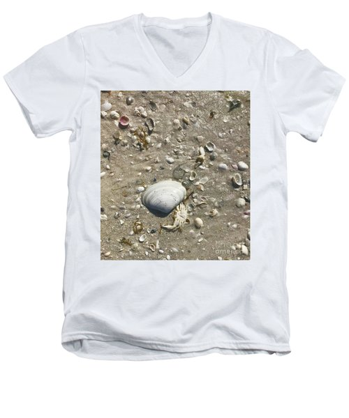 Sarasota County Shells Men's V-Neck T-Shirt