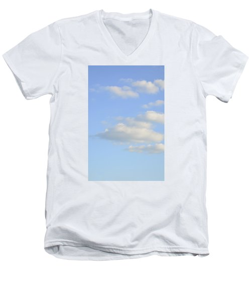 Men's V-Neck T-Shirt featuring the photograph Say Vertical by Wanda Krack