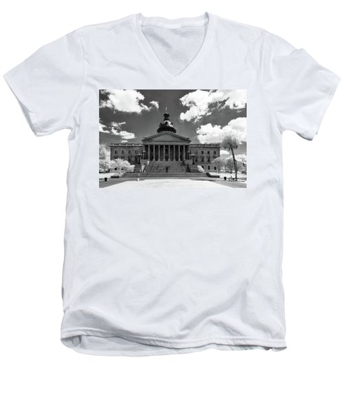 Sc State House - Ir Men's V-Neck T-Shirt