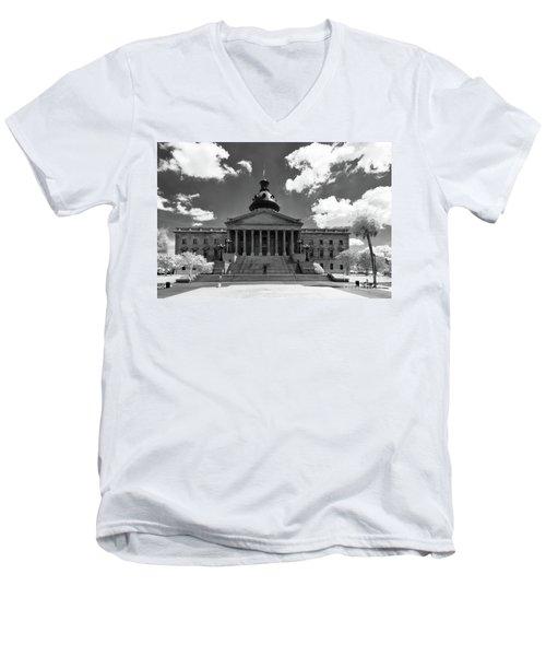 Sc State House - Ir Men's V-Neck T-Shirt