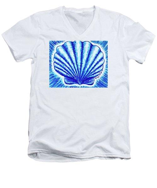 Scallop Men's V-Neck T-Shirt