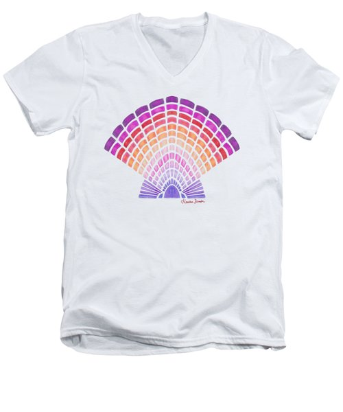 Scallop Shell Men's V-Neck T-Shirt