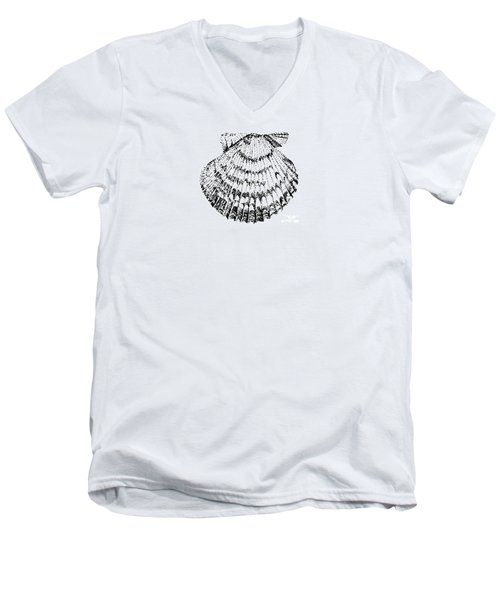 Scallop Men's V-Neck T-Shirt