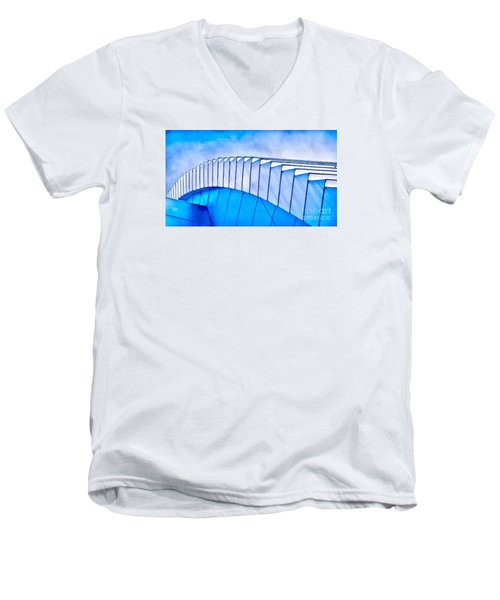 Scaped Glamour Men's V-Neck T-Shirt
