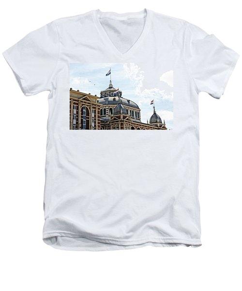Scheveningen Kurhaus Men's V-Neck T-Shirt