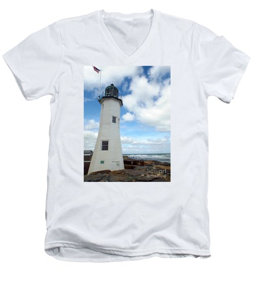 Scituate Light Men's V-Neck T-Shirt