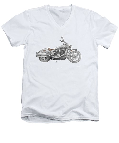 Scout 2015 Men's V-Neck T-Shirt by Terry Frederick