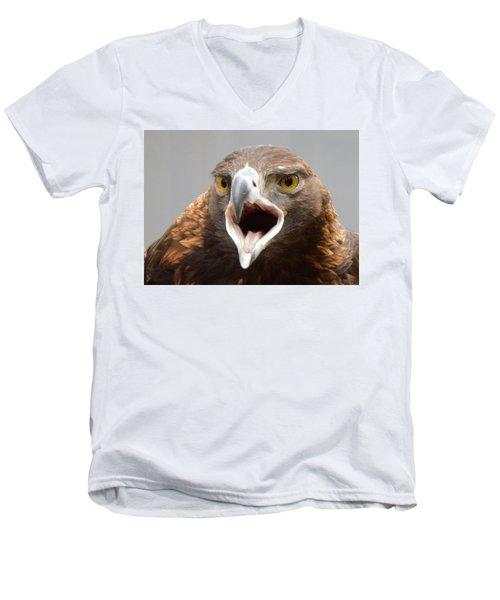 Screaming Eagle Men's V-Neck T-Shirt
