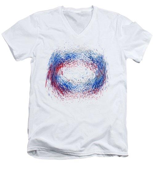 Scrubbed Around Men's V-Neck T-Shirt