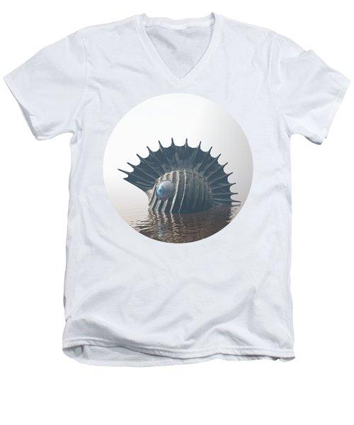 Sea Monsters Men's V-Neck T-Shirt