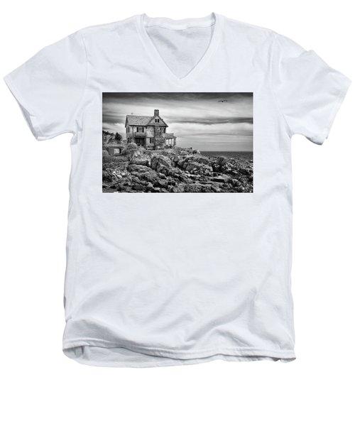 Sea Overlook Men's V-Neck T-Shirt