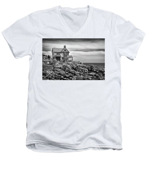 Sea Overlook Men's V-Neck T-Shirt