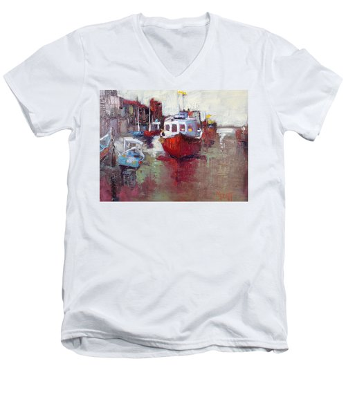 Sea Worthy Men's V-Neck T-Shirt