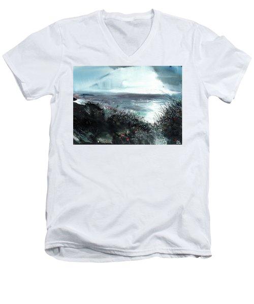 Seaface Men's V-Neck T-Shirt
