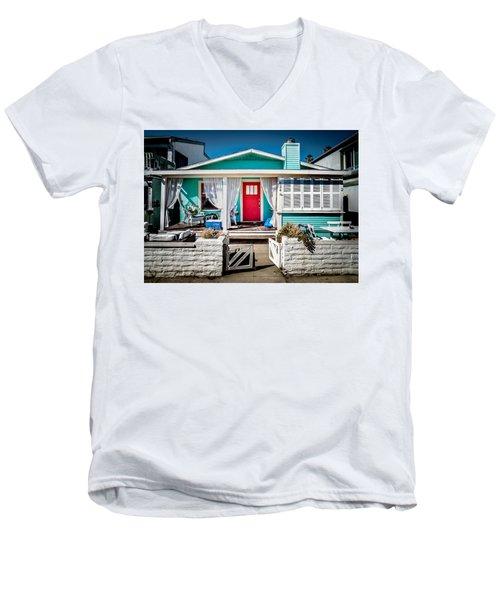 Seafoam Shanty Men's V-Neck T-Shirt