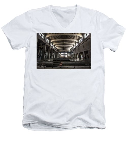 Seaholm Power Plant Men's V-Neck T-Shirt