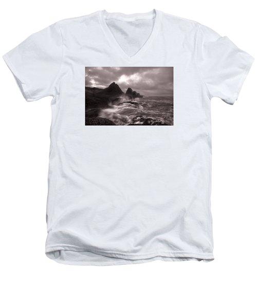 Seal Rock Thunder Men's V-Neck T-Shirt