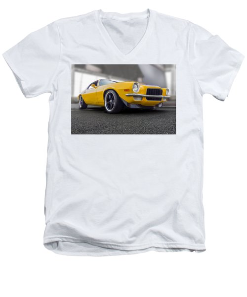 Second Gen Camaro Men's V-Neck T-Shirt