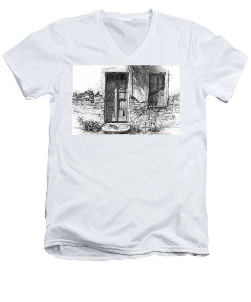 Secret Of The Closed Doors Men's V-Neck T-Shirt