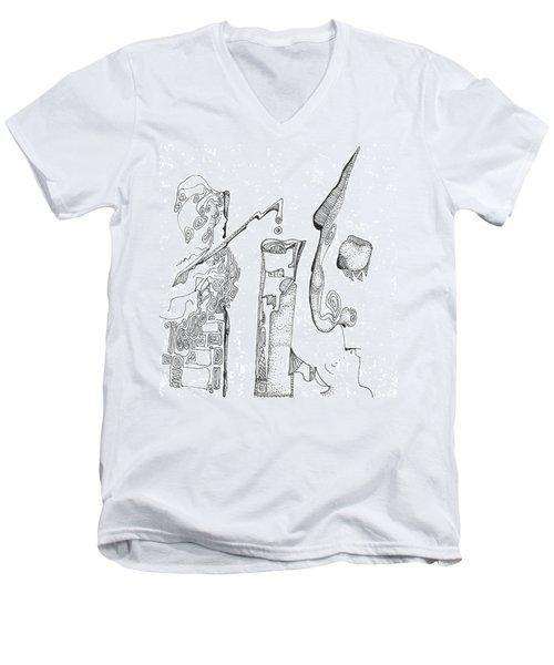 Secrets Of The Engineers Men's V-Neck T-Shirt