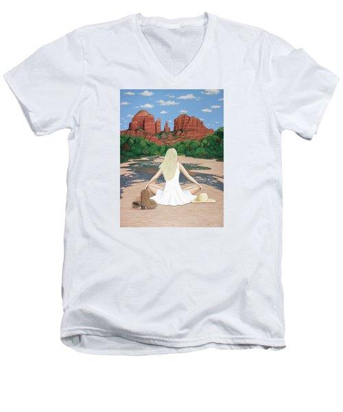 Sedona Breeze  Men's V-Neck T-Shirt