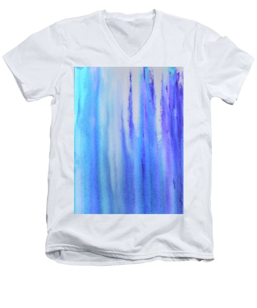 See Blue Sea Men's V-Neck T-Shirt by Cyrionna The Cyerial Artist