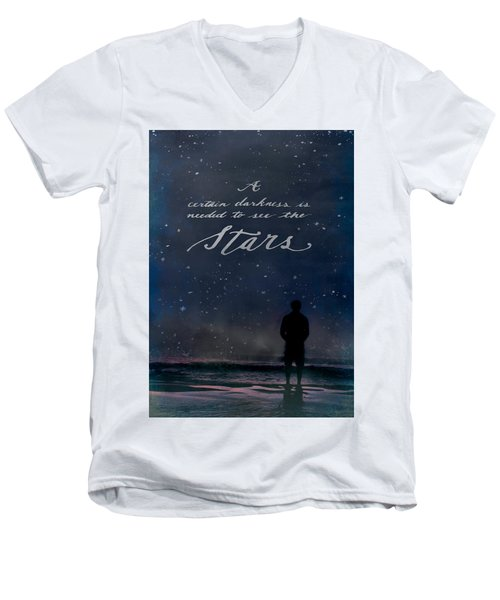See The Stars Men's V-Neck T-Shirt