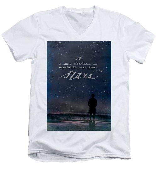 See The Stars Men's V-Neck T-Shirt