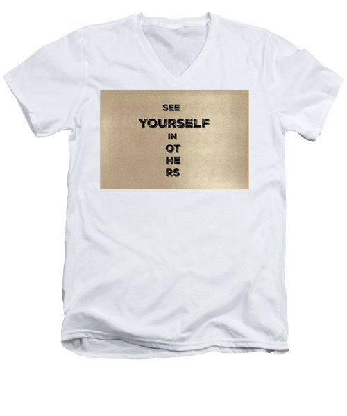 See Yourself #1 Men's V-Neck T-Shirt