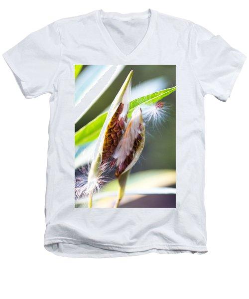 Seeds Men's V-Neck T-Shirt