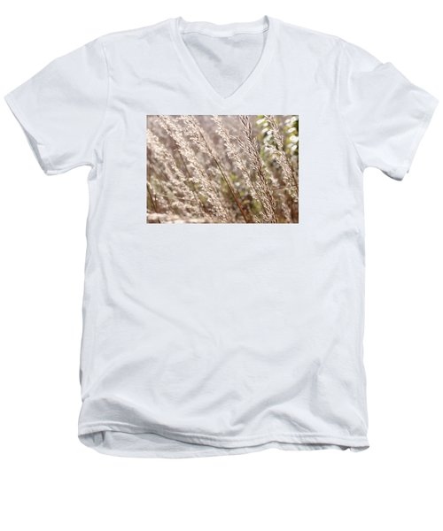 Seeds Of Autumn Men's V-Neck T-Shirt by Tim Good
