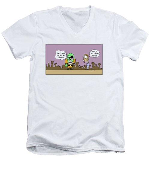 Seefood Men's V-Neck T-Shirt