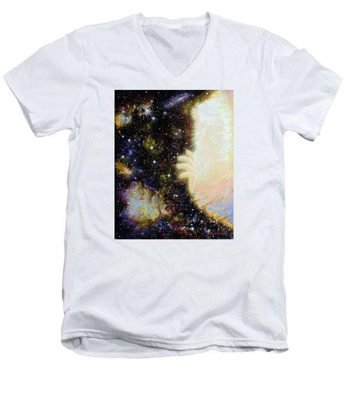 Seeing Beyond Men's V-Neck T-Shirt