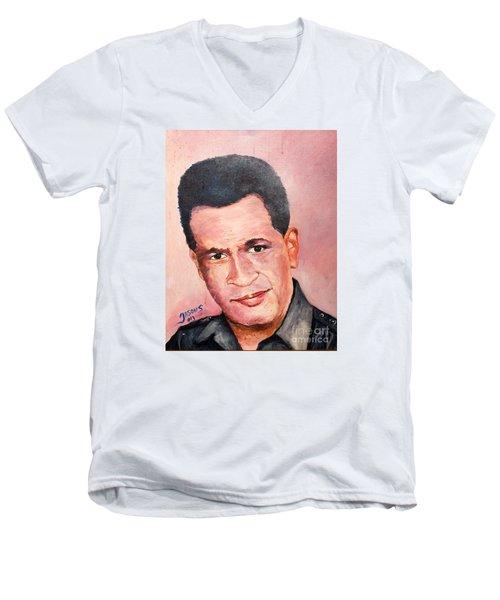 Self Portrait Of Me Men's V-Neck T-Shirt