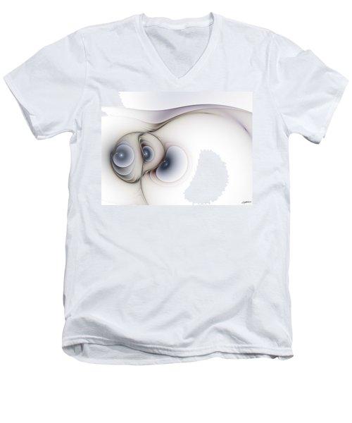 Sensual Manifestations Men's V-Neck T-Shirt by Casey Kotas