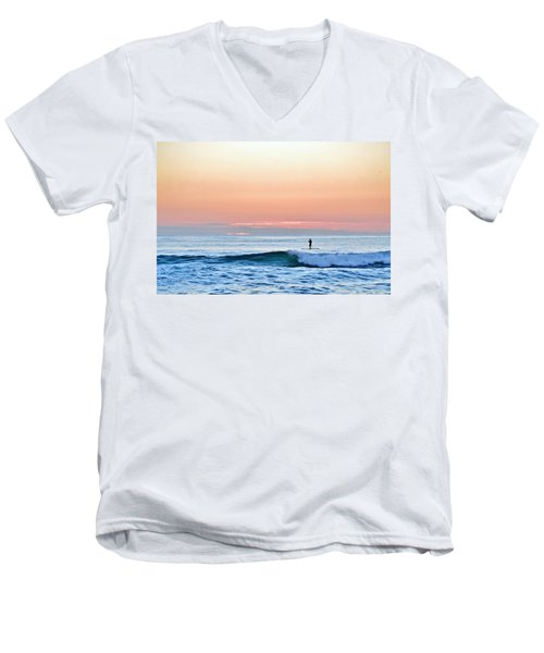 September 14 Sunrise Men's V-Neck T-Shirt