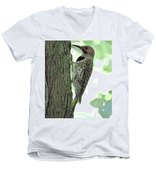 September Flicker Men's V-Neck T-Shirt