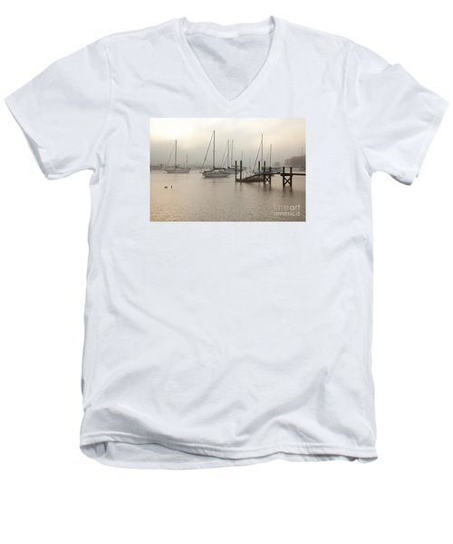 September Fog I Men's V-Neck T-Shirt